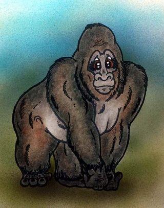 Galvin the Gorilla big