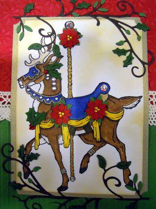 The Stamplistic Reindeer