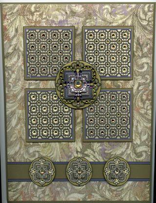 Byzantine Squares Card
